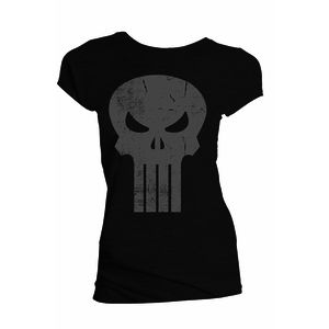 [Marvel: T-Shirt: Punisher Skull (Red) (Product Image)]
