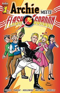 [The cover for Archie Meets Flash Gordon: Oneshot (Cover A Parent)]