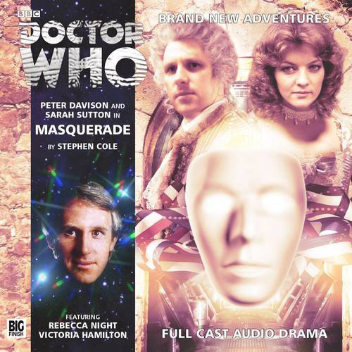 [The cover for Doctor Who: Masquerade: 187]