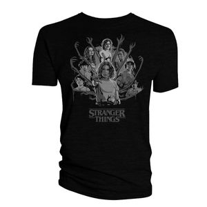 [Stranger Things: T-Shirt: The Gang's All Here (Product Image)]