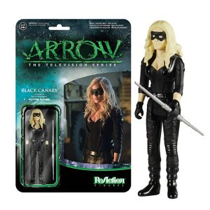 [DC: Arrow TV Series: ReAction Figures: Black Canary (Product Image)]