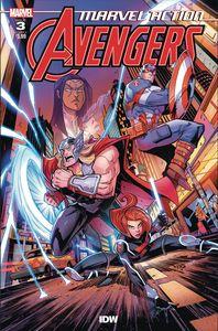 [Marvel Action: Avengers #3 (Sommariva) (Product Image)]