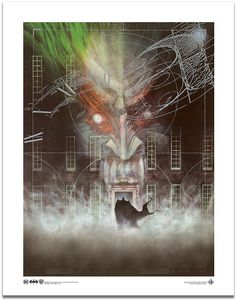 [Batman: Art Print: Arkham Asylum By Dave Mckean (Product Image)]