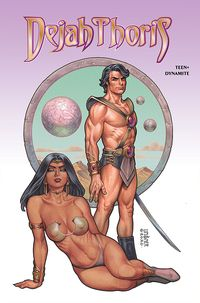 [The cover for Dejah Thoris: Winters End: One Shot (Cover A Linsner)]