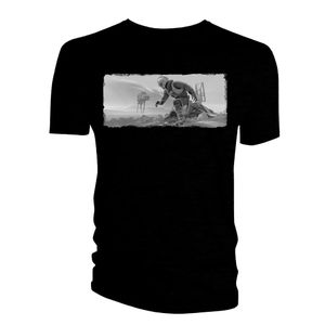 [Star Wars: T-Shirt: Ralph McQuarrie Concept Art: Hoth Battle (Product Image)]