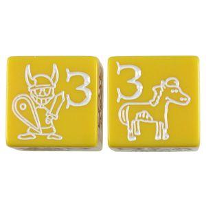 [Munchkin: Jumbo D6 (Yellow) (Product Image)]