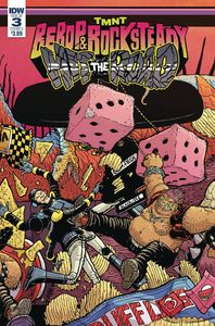 [TMNT: Bebop & Rocksteady Hit The Road #3 (Cover A Pitarra) (Product Image)]