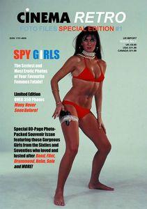 [Cinema Retro Foto Files #1 (Spy Girls) (Product Image)]