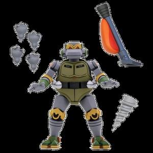 [Teenage Mutant Ninja Turtles: Ultimate 7 Inch Scale Action Figure: Cartoon Metalhead (Product Image)]