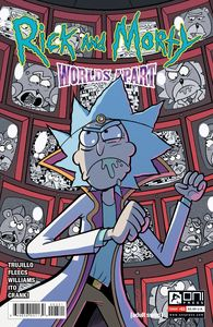 [Rick & Morty: Worlds Apart #3 (Cover B Williams) (Product Image)]