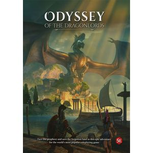[Odyssey Of The Dragonlords: Adventure Book (Hardcover) (Product Image)]
