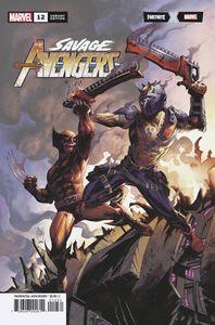 [Savage Avengers #12 (Kubert Fortnite Variant) (Product Image)]