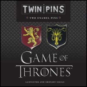 [Game Of Thrones: Pins: Lannister & Greyjoy Sigils (Product Image)]