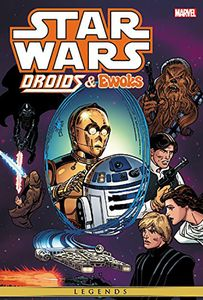 [Star Wars: Droids & Ewoks: Omnibus (Hardcover - Droids Cover) (Product Image)]