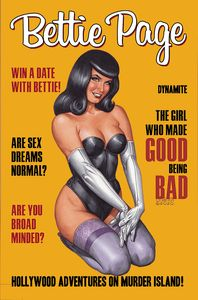 [Bettie Page: Hollywood Adventures On Murder Island! (Product Image)]