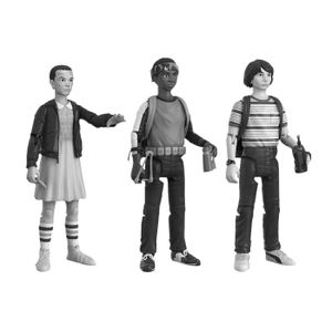 [Stranger Things: Action Figure 3 Pack: Will, Lucas & Eleven (Product Image)]