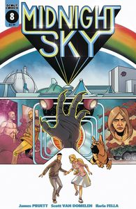 [Midnight Sky #8 (Cover B Van Domelen Logans Run Homage) (Product Image)]