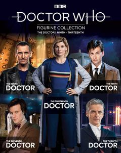 [Doctor Who Figurine Collection #10: The Doctors Ninth To Thirteenth Box Set (Product Image)]