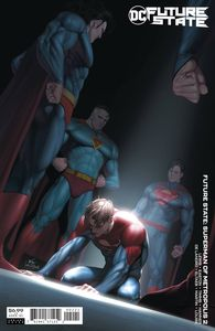 [Future State: Superman Of Metropolis #2 (Cover B Inhyuk Lee Card Stock Variant) (Product Image)]
