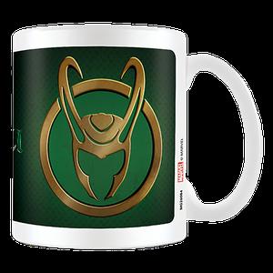 [Loki (Disney+): Mug: Loki Horns Icon (Product Image)]