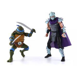 [Teenage Mutant Ninja Turtles Cartoon: Action Figure 2-Pack: Leonardo V Shredder (Product Image)]