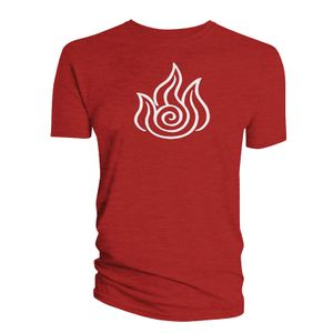 [Avatar The Last Airbender: T-Shirt: Fire Element (Product Image)]