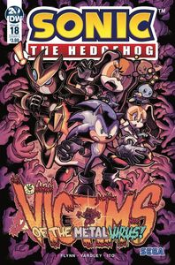 [Sonic The Hedgehog #18 (Cover A Gray) (Product Image)]