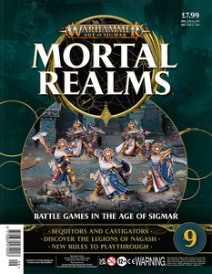 [Warhammer: Age Of Sigmar: Mortal Realms #9 (Product Image)]