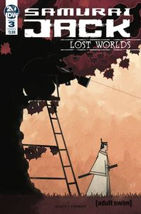 [Samurai Jack: Lost Worlds #3 (Cover A Thomas) (Product Image)]