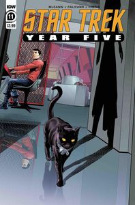 [Star Trek: Year Five #11 (Cover A Thompson) (Product Image)]