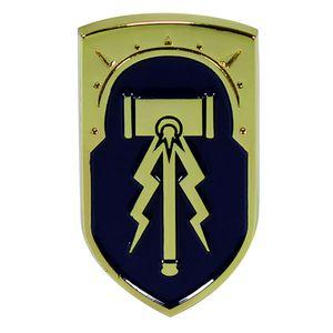 [Warhammer: Age Of Sigmar:Enamel Pin Badge: Stormcast Shield (Product Image)]