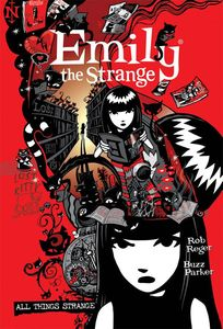 [The Complete Emily The Strange: All Things Strange (Hardcover) (Product Image)]
