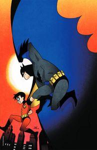 [Batman: The Adventures Continue: Season II #1 (Team Cover Kamome Shirahama Stock Variant) (Product Image)]
