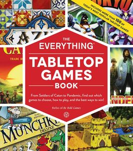 [The Everything Tabletop Games Book (Product Image)]