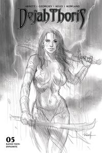 [Dejah Thoris: 2019 #5 (Parrillo B&W Variant) (Product Image)]