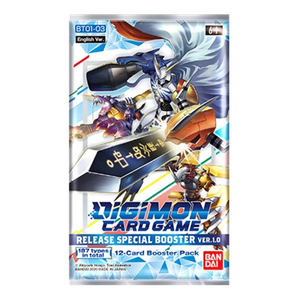 [Digimon: Card Game: Release Special Booster: Version 1.0 BT01-03 (Product Image)]