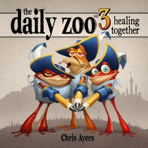 [Daily Zoo: Volume 3: Healing Together (Hardcover) (Product Image)]