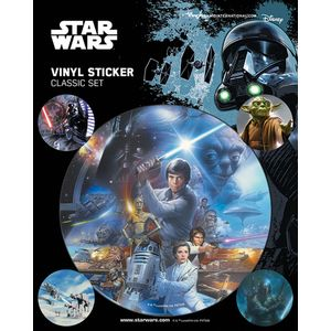 [Star Wars: Classic Vinyl Sticker Pack (Product Image)]