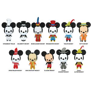 [Disney: Mickey's 90th Anniversary: 3D PVC Figural Keyrings (Product Image)]