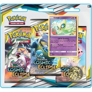 [Pokemon: Trading Card Game: Sun & Moon: Cosmic Eclipse Blister 3 Pack Booster (Product Image)]