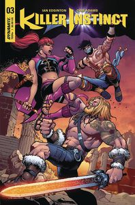 [Killer Instinct #3 (Cover A Cinar) (Product Image)]