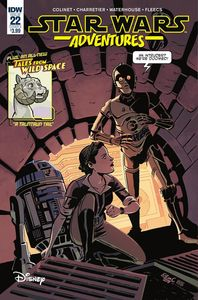 [Star Wars Adventures #22 (Cover A Charretier) (Product Image)]