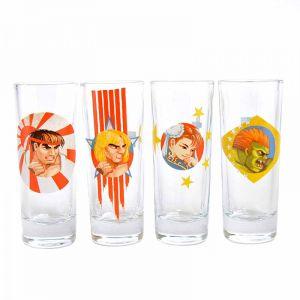 [Street Fighter: Set Of 4 Shot Glasses: Honour (Product Image)]