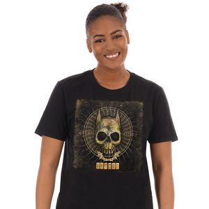 [DC: T-Shirt: Batman Rune Skull (Product Image)]