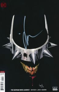[Batman Who Laughs #1 (Capullo Variant - Signed Edition) (Product Image)]