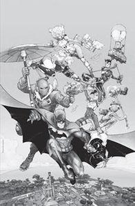 [Batman/Fortnite: Zero Point: Batman Day Special Edition #1 (Cover C Rocafort Monofoil Variant) (Product Image)]