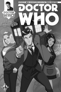 [Doctor Who: 10th #1 (Forbidden Planet Variant) (Product Image)]