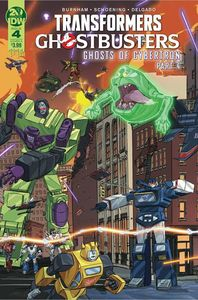 [Transformers/Ghostbusters #4 (Cover A Schoening) (Product Image)]