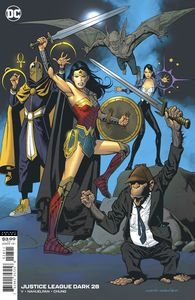 [Justice League: Dark #28 (Kevin Nowlan Variant) (Product Image)]