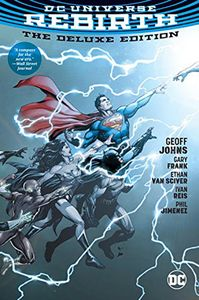 [DC Universe: Rebirth: Deluxe Edition (Hardcover) (Product Image)]